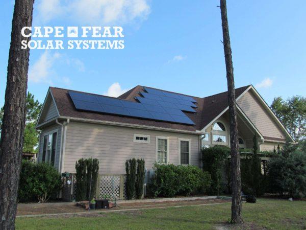 SunPower Solar Panel Installation