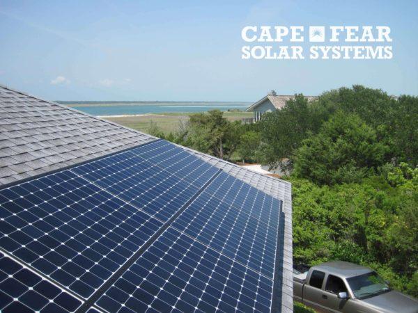 SunPower Solar Panel Installation - Wilmington, NC Cape Fear Solar Systems