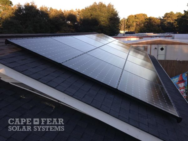 Cape Fear Solar Systems | Solar Electric Panels | Southport, NC