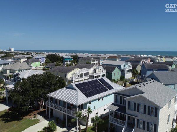 SunPower PV Installation Kure Beach, NC | Cape Fear Solar Systems