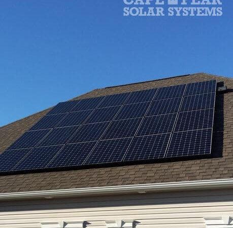 SunPower Solar Panel Installation and Solar Attic Fan | Cape Fear Solar Systems Wilmington, NC
