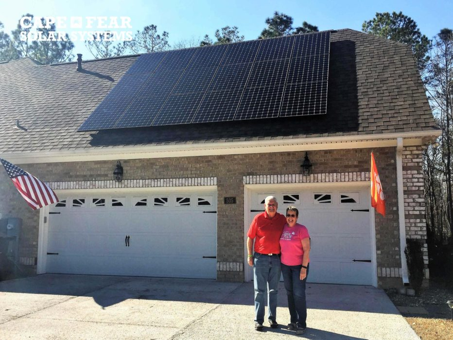 Happy Solar Customer