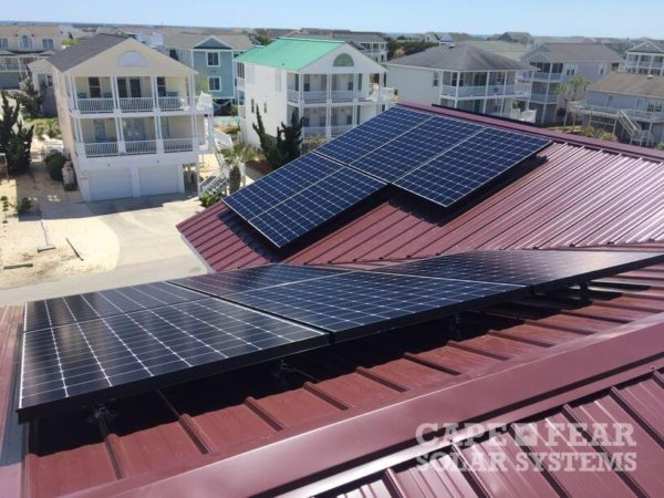 SunPower Panel Installation | Holden Beach, NC