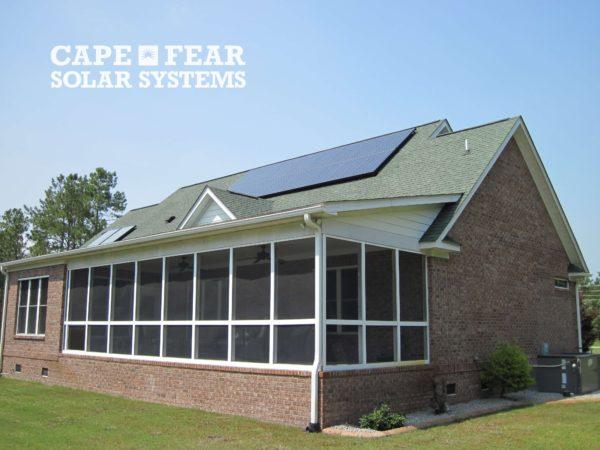SunPower Solar Panel Installation Southport - Cape Fear Solar Systems Wilmington, NC