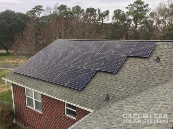 Solar Panel Install Cape Fear Solar Systems
