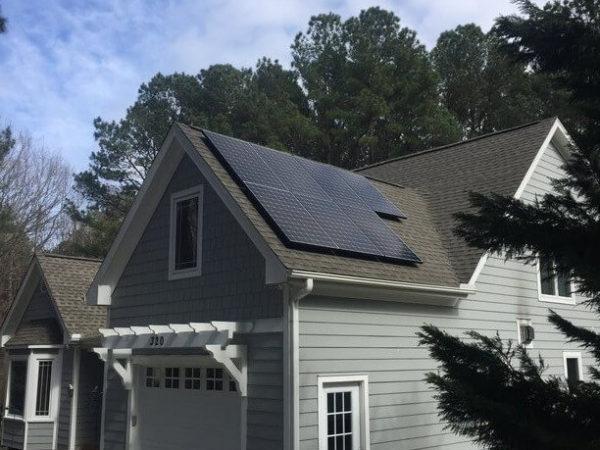Cape Fear Solar Systems Installation