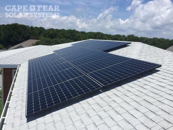 SunPower Solar Panel Installation Kure Beach NC | Cape Fear Solar Systems