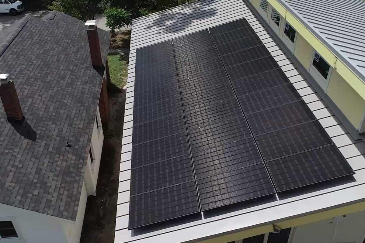 solar panels for net zero home