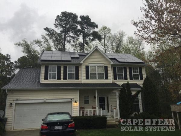 SunPower Solar Panel Installation Cary, NC | Cape Fear Solar Systems