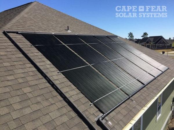 Solar Pool Heating Leland, NC - Cape Fear Solar Systems