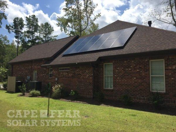SunPower Panel Installation - Wilmington, NC - Cape Fear Solar Systems