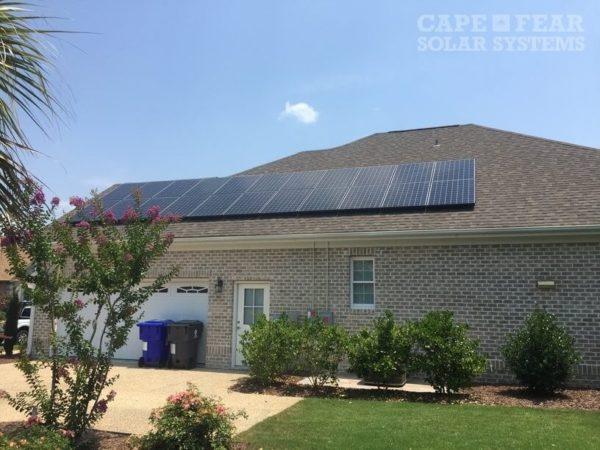 Cape Fear Solar Systems - SunPower Solar Panel Installation Wilmington, NC