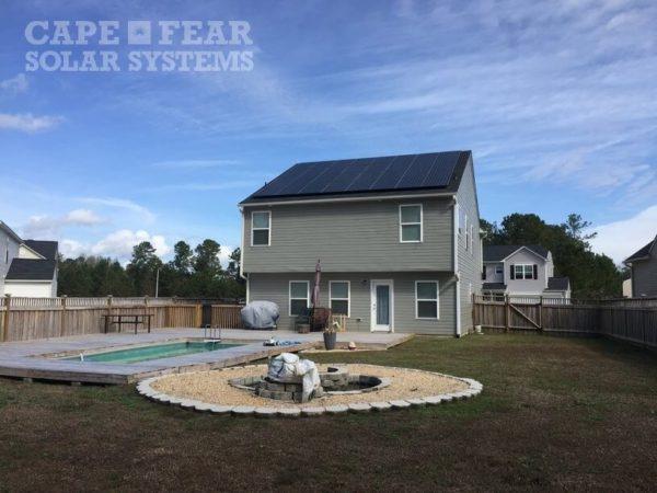 Leland, NC SunPower Install Cape Fear Solar Systems