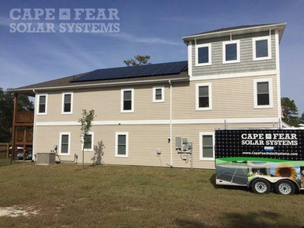 SunPower Panel Install Cape Fear Solar Systems