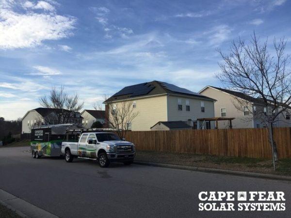 Solar Panel Installation Garner, NC Cape Fear Solar Systems