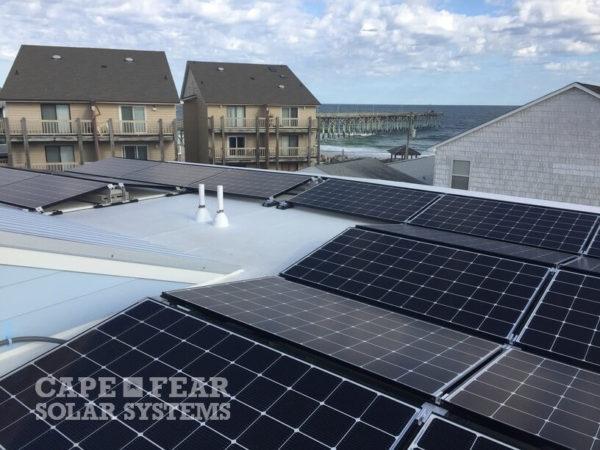 Commercial Solar Array Carolina Beach