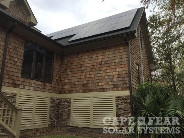SunPower Solar Panel Installation Cape Fear Solar Systems Wilmington, NC