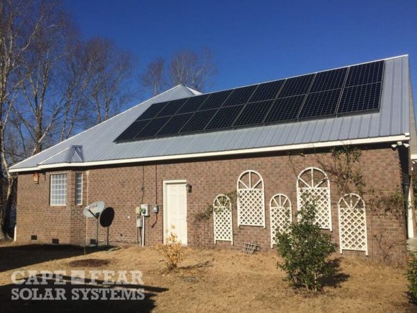 Photovoltaic Installation Cape Fear Solar Systems