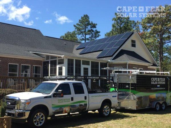 SunPower Solar Panel Installation | Cape Fear Solar Systems