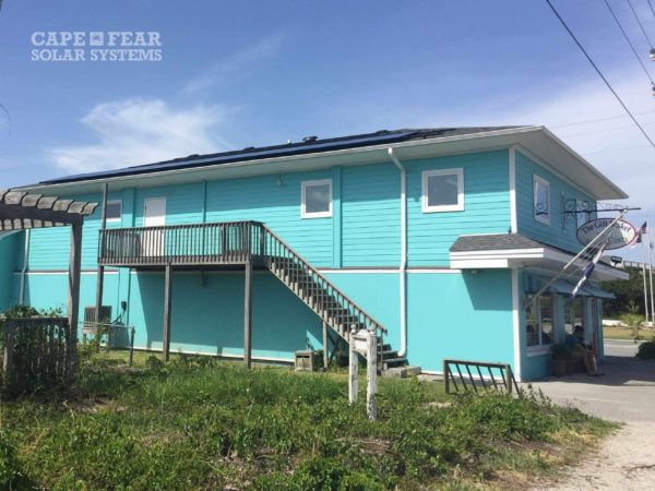 Commercial Solar Panels | Topsail Beach, NC | The Gift Basket