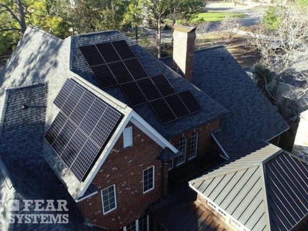 Cape Fear Solar Systems SunPower Install Wilmington NC