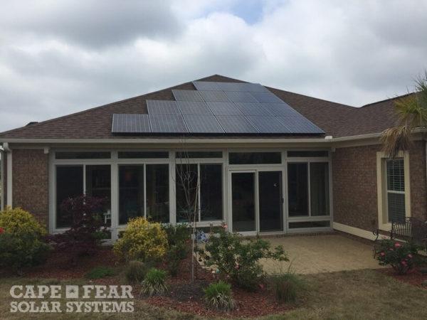 SunPower Solar Installation - Cape Fear Solar Systems