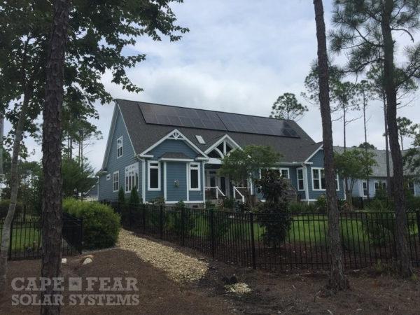 SunPower Panel Installation Cape Fear Solar Systems