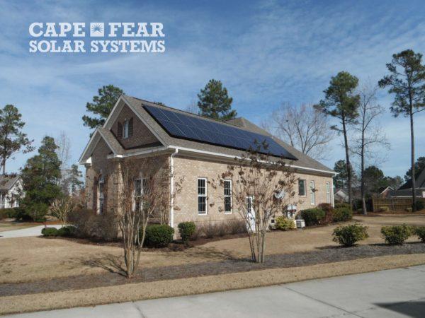 SunPower Solar Panel Installation - Cape Fear Solar Systems
