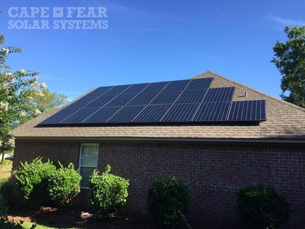 SunPower Panel Installation | Cape Fear Solar System - Winnabow, NC