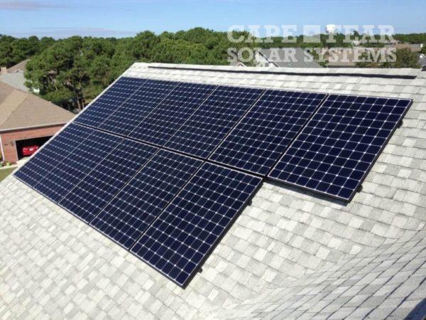 SunPower Solar Panel Installation in Kure Beach - Cape Fear Solar Systems Wilmington, NC