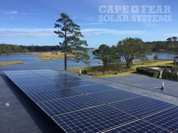 SunPower Panel Install - Wilmington, NC - Cape Fear Solar Systems