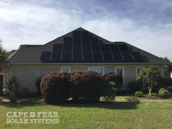 SunPower Solar Panel Installation Wilmington, NC - Cape Fear Solar Systems
