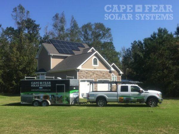 SunPower Panel Installation Navassa, NC Cape Fear Solar Systems