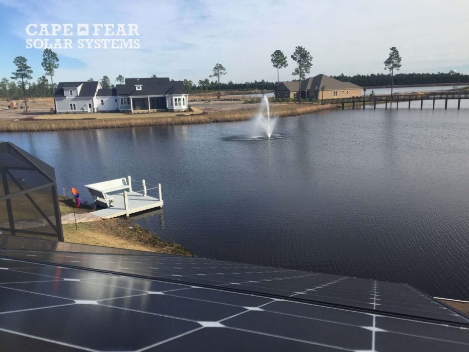 Solar panels Compass Pointe