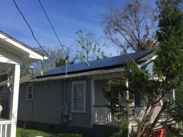 SunPower Panel Installation Wilmington, NC Cape Fear Solar Systems