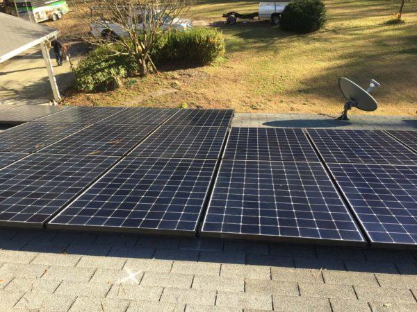 SunPower Solar Installation Cape Fear Solar Systems