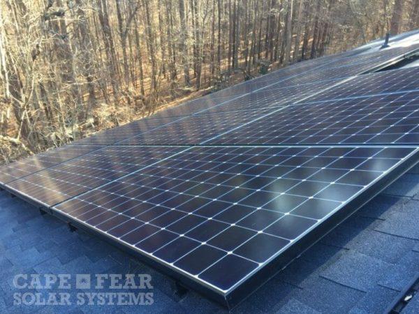 SunPower Solar Panel Installation Cape Fear Solar Systems
