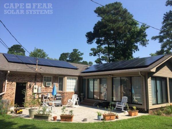 SunPower Panel Installation - Cape Fear Solar Systems