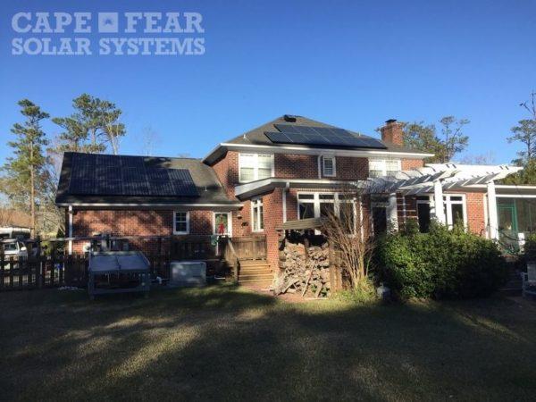 Solar Panel Install Cape Fear Solar Systems Wilmington, NC