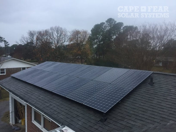 Solar Panel Installation Wilmington, NC Cape Fear Solar Systems