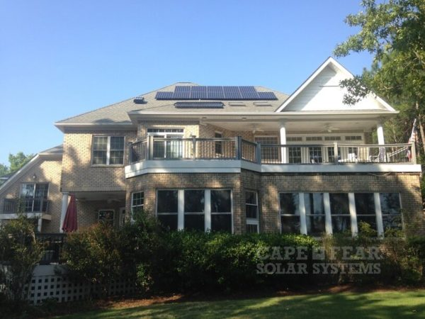 Large Solar Home in Southport NC