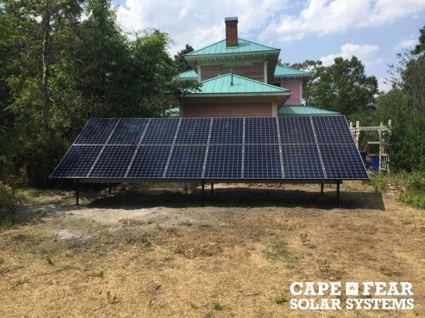SunPower Solar Panel Solar Installation Jacksonville, NC | Cape Fear Solar Systems