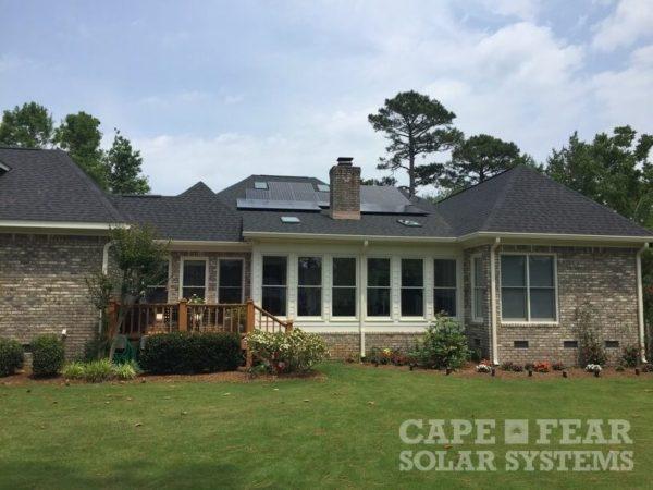 SunPower Solar Panel Installation Wilmington, NC | Cape Fear Solar Systems