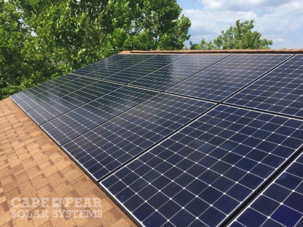 SunPower Solar Panel Installation Wilmington NC | Cape Fear Solar Systems