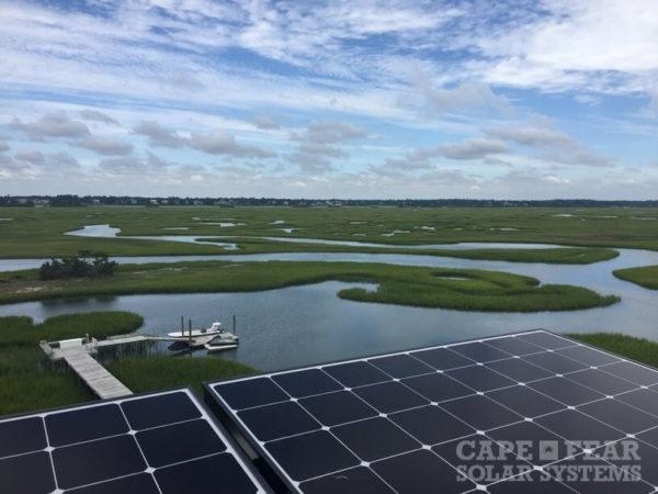 SunPower Solar Panel Installation Wrightsville Beach, NC - Cape Fear Solar Systems