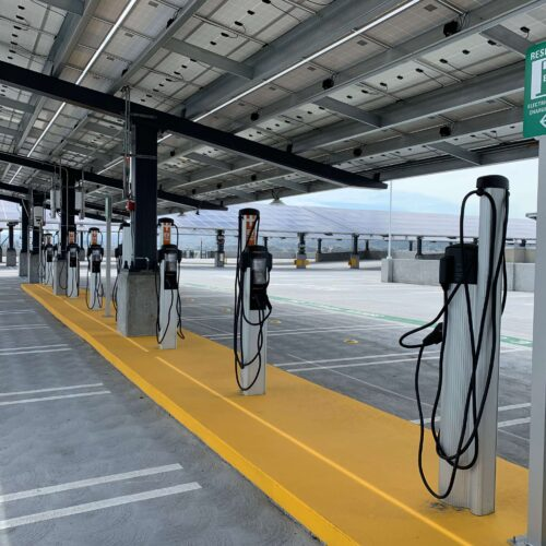 ChargePoint EV Charger Powered By Solar