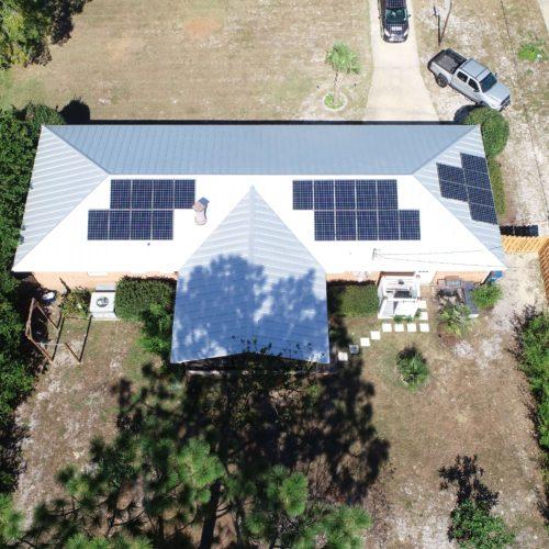 Residential Solar Installation   Cape Fear Solar Systems Wilmington, NC