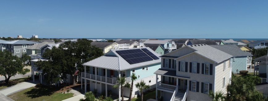Residential SunPower Solar Panel Installation Kure Beach NC - Cape Fear Solar Systems Wilmington, NC