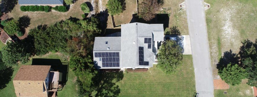 Residential SunPower Panel Installation Kure Beach, NC - Cape Fear Solar Systems Wilmington, NC