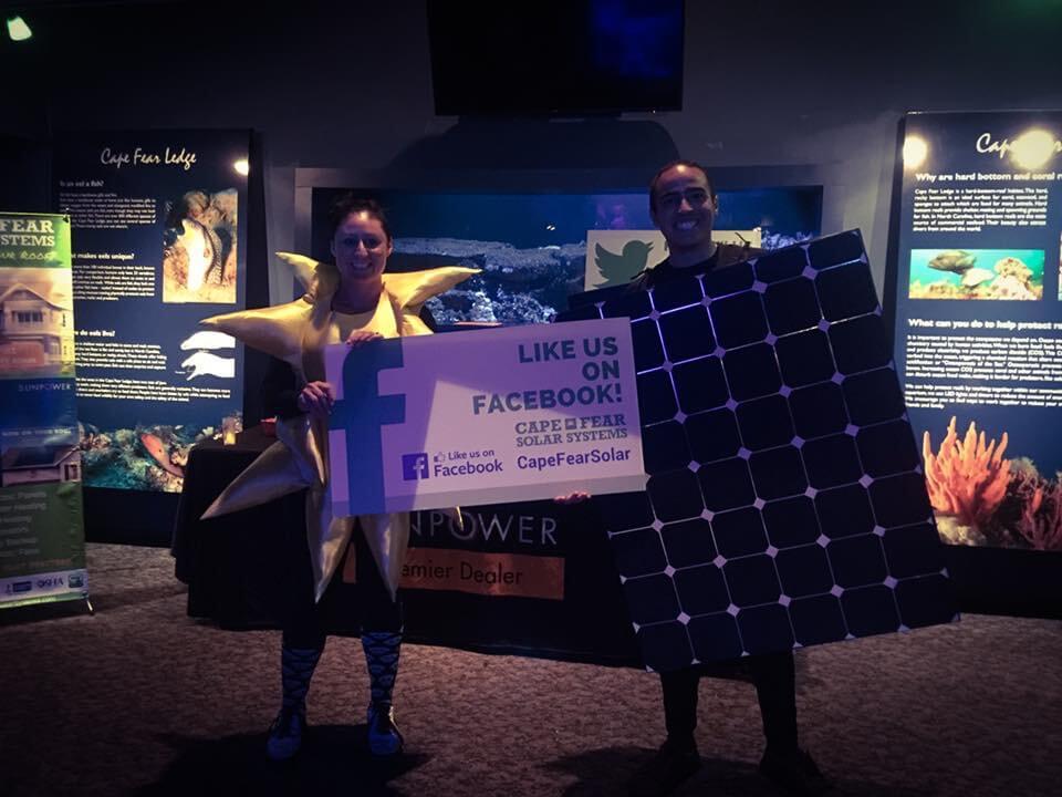 NC Aquarium Cape Fear Solar